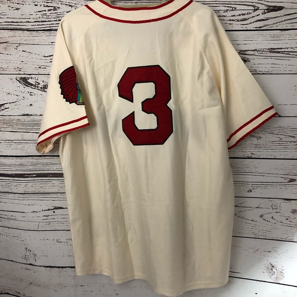 newest 60e74 b198c Mitchell & Ness Throwback Braves Babe Ruth Jersey